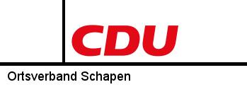 CDU Ortsverband Schapen